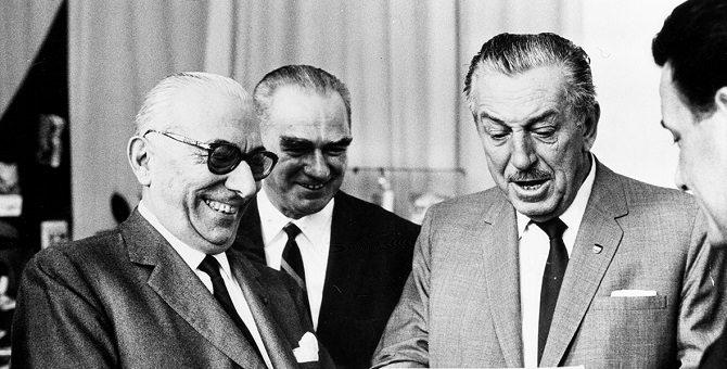 Arnoldo Mondadori, Mauro Gentilini e Walt Disney