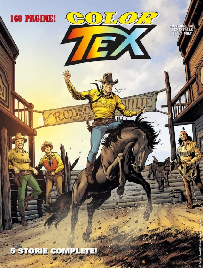 color tex 16 fumetto bonelli