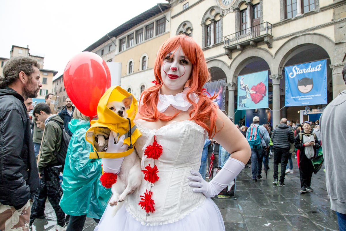 cosplayer lucca comics 2019