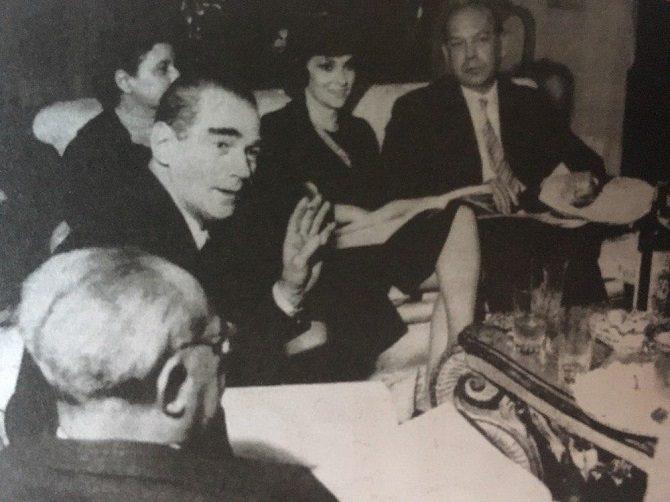 Mario Gentilini, Gina Lollobrigida e Gian Giacomo Dalmasso, nel 1959