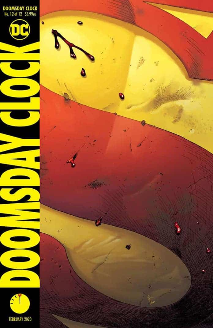 doomsday clock 12 dc comics