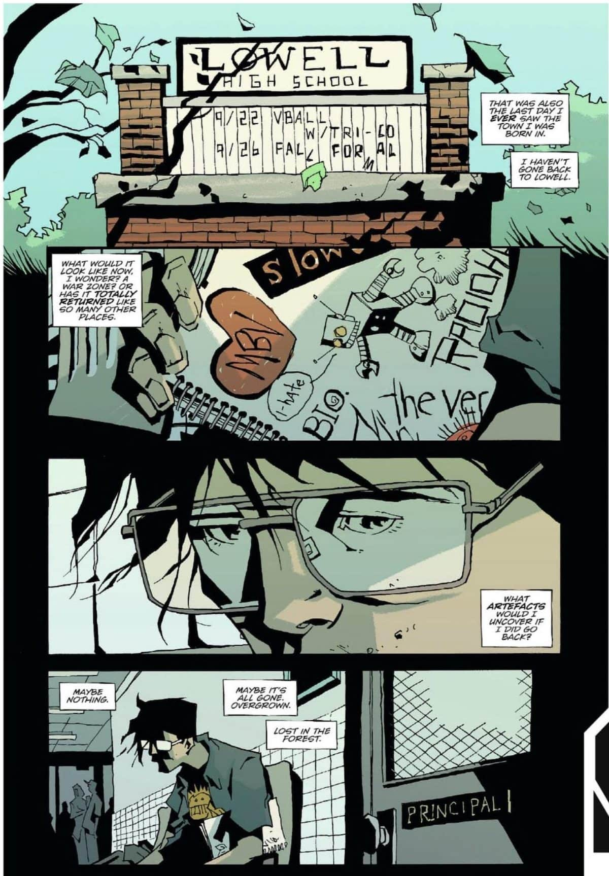 family tree jeff lemire image comics