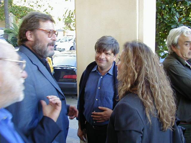 François Corteggiani, Gianni Bono e Claretta Muci storia topolino direttori