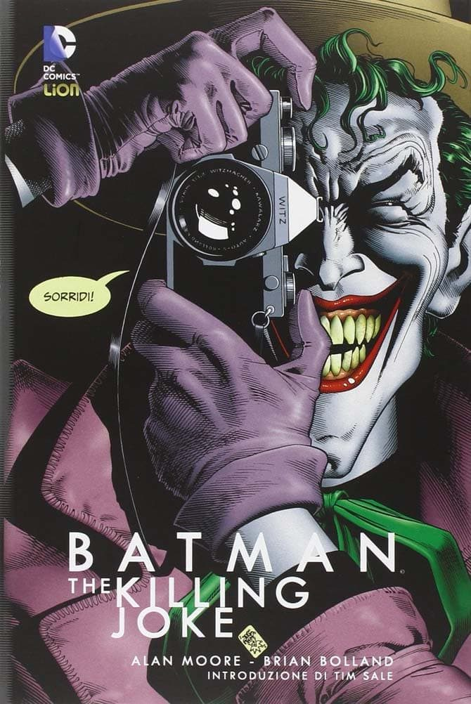batman killing joke moore bolland fumetti dc regali natale