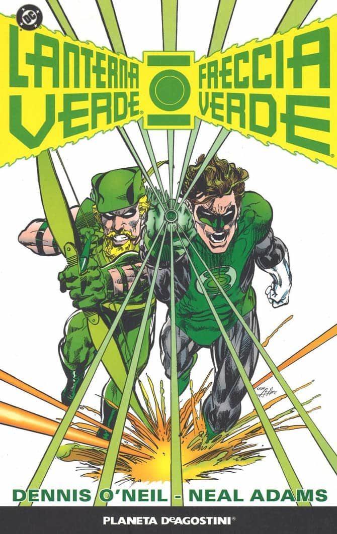 lanterna verde freccia verde o'neil adams fumetti dc regali natale