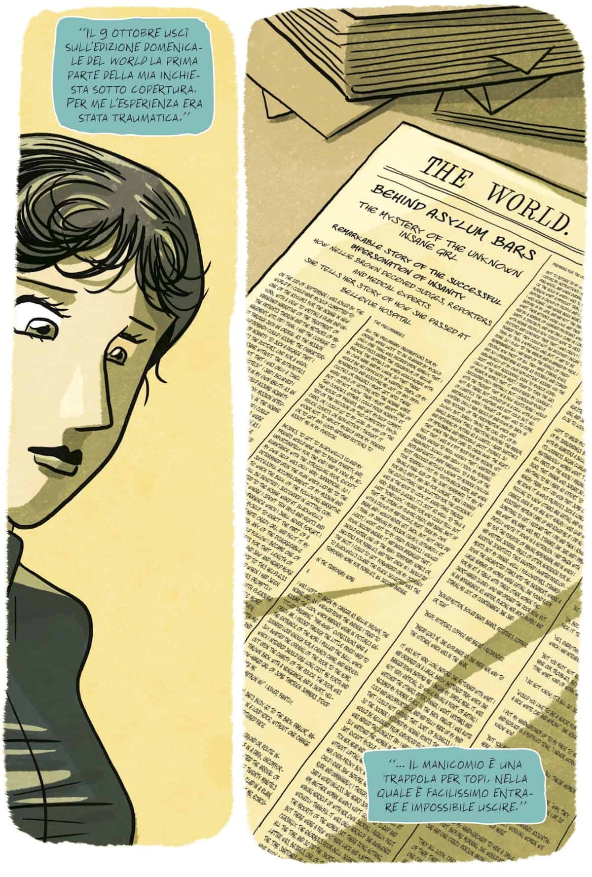 nellie bly graphic novel tunué