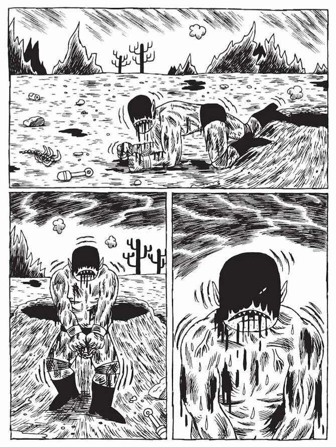 Prison Pit Johnny Ryan graphic novel eris