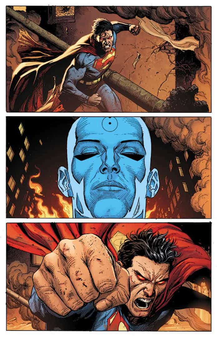 superman dottor manhattan doomsday clock 12