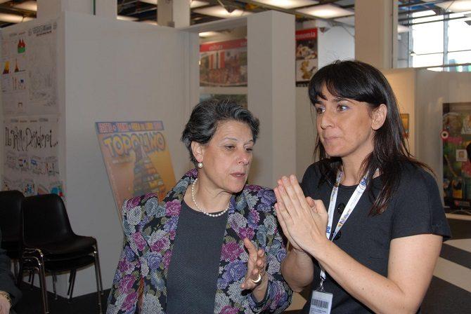 Simonetta Agnello Hornby e Valentina De Poli storia topolino direttori
