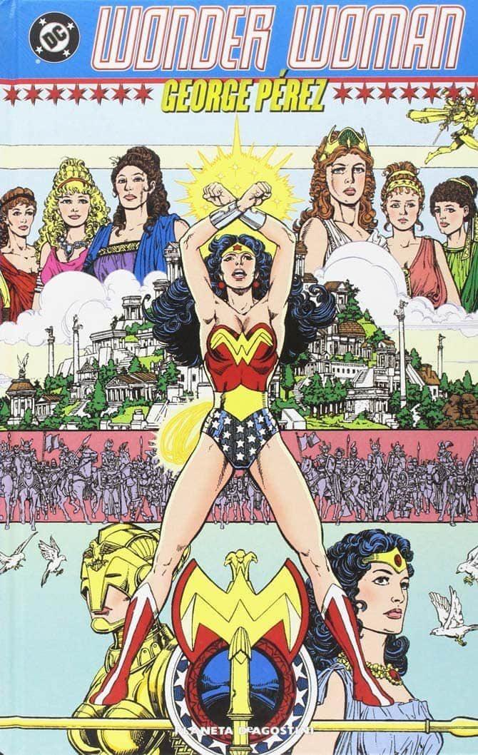 wonder woman perez fumetti dc regali natale