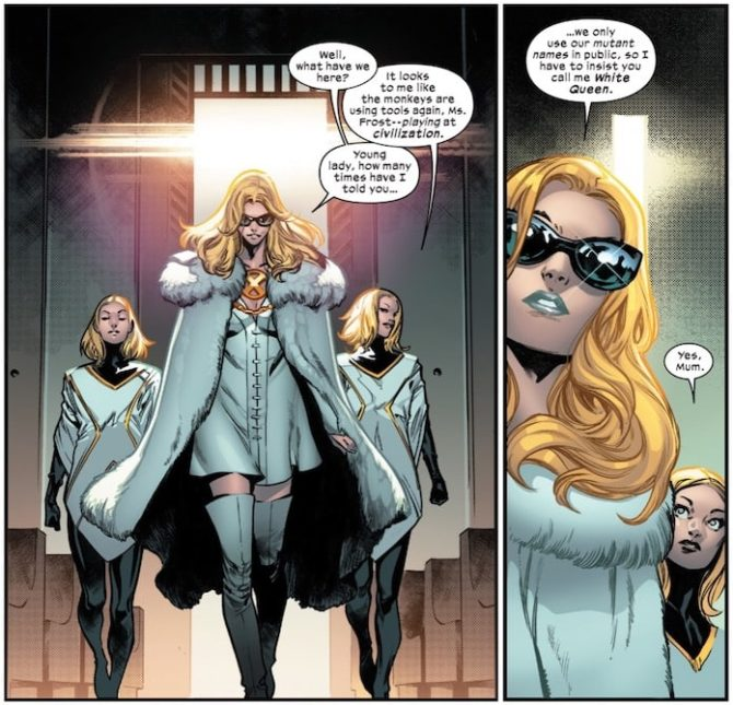 house of x x-men hickman disegnatori