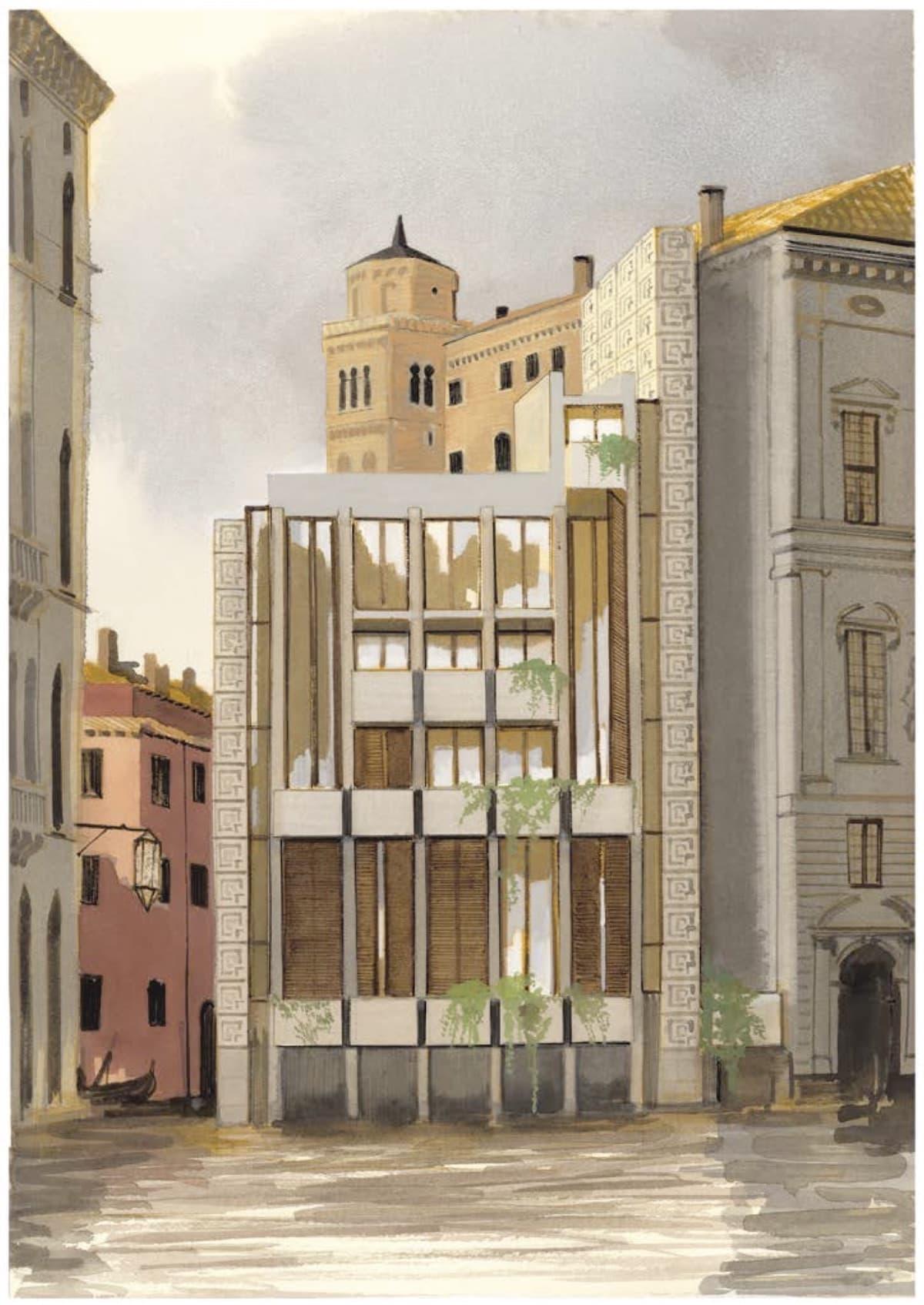 casa sul canal grande architettura celestia manuele fior
