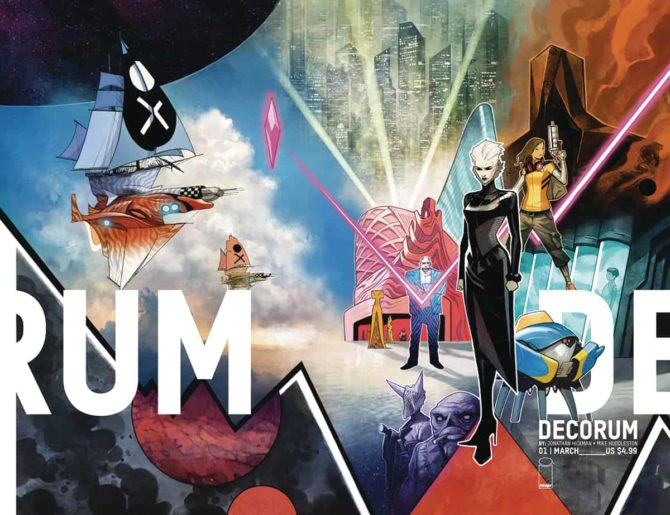 decorum hickman image comics fumetti usa 2020