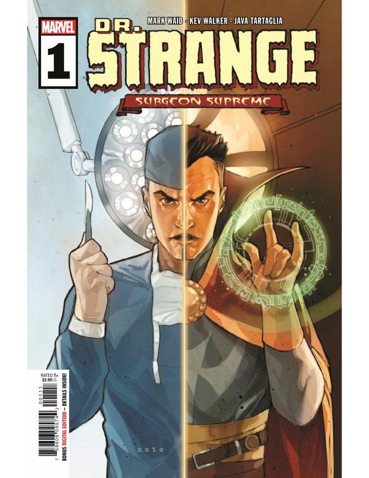 dottor strange nuovo fumetto marvel