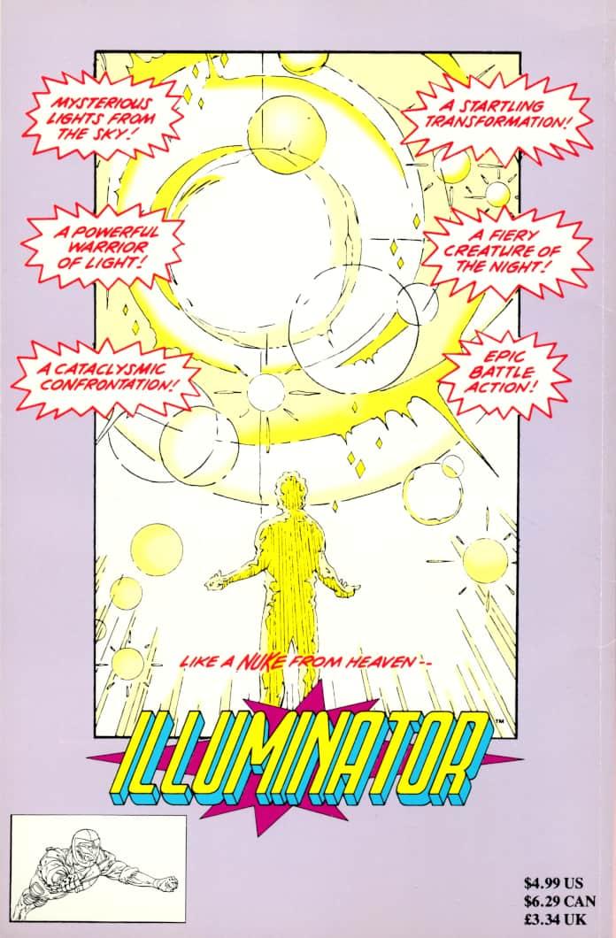 illuminator marvel comics fumetti natale