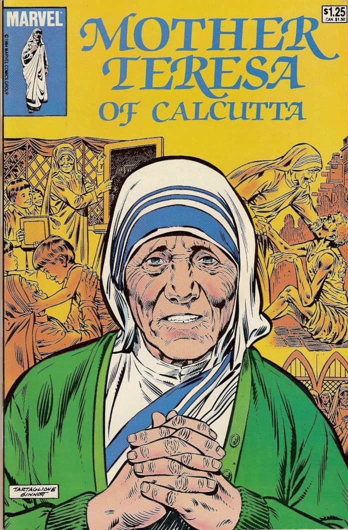 Mother Teresa of Calcutta comics