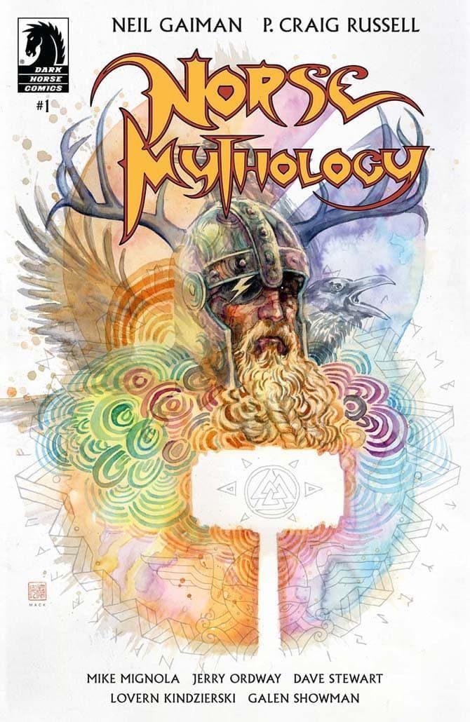 norse mythology fumetti usa 2020
