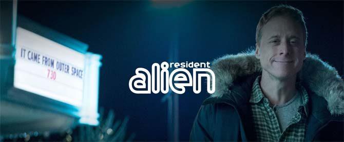 resident alien serie tv