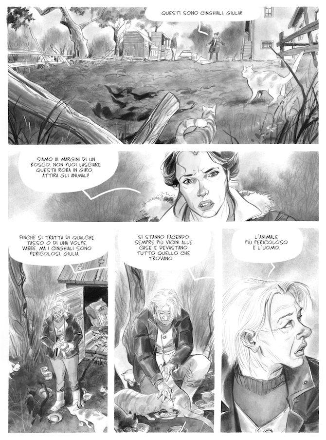 Stagione di caccia graphic novel pagani cannucciari tunue