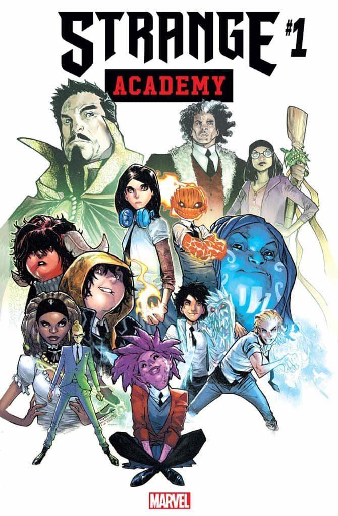 strange academy 1 fumetto marvel young ramos