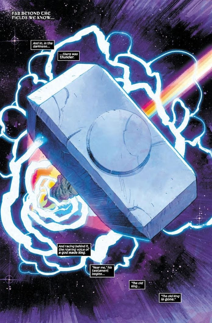thor nuovo fumetto marvel donny cates