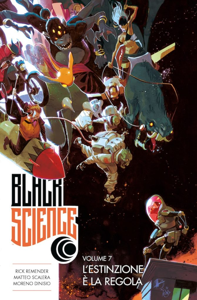 black science fumetto
