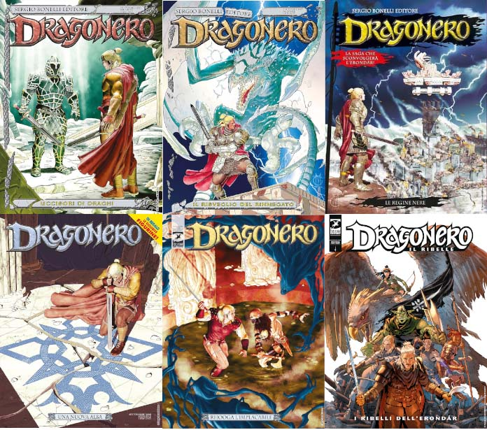 dragonero fumetto fantasy bonelli