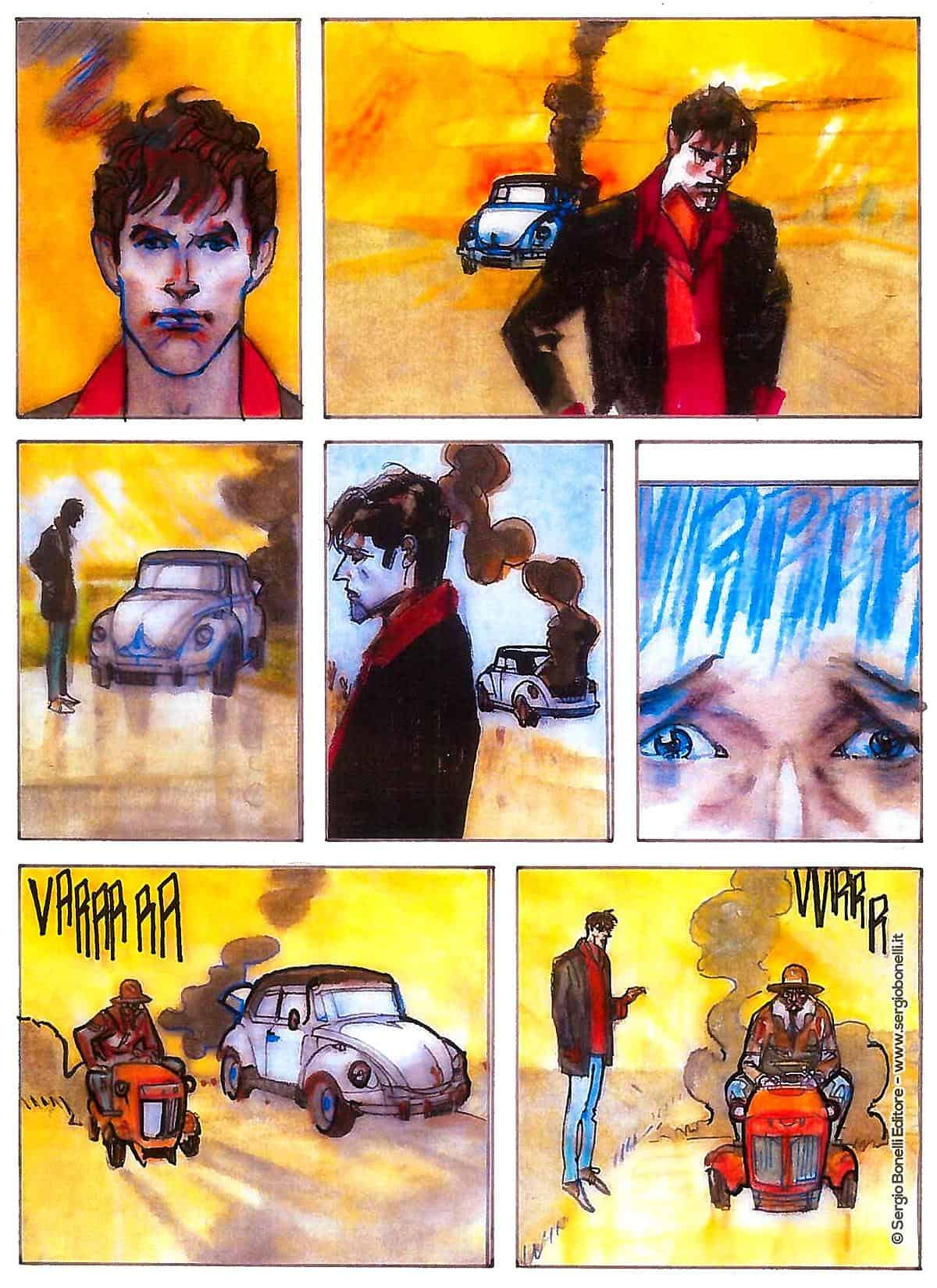 dylan dog color fest 32 dall'angol