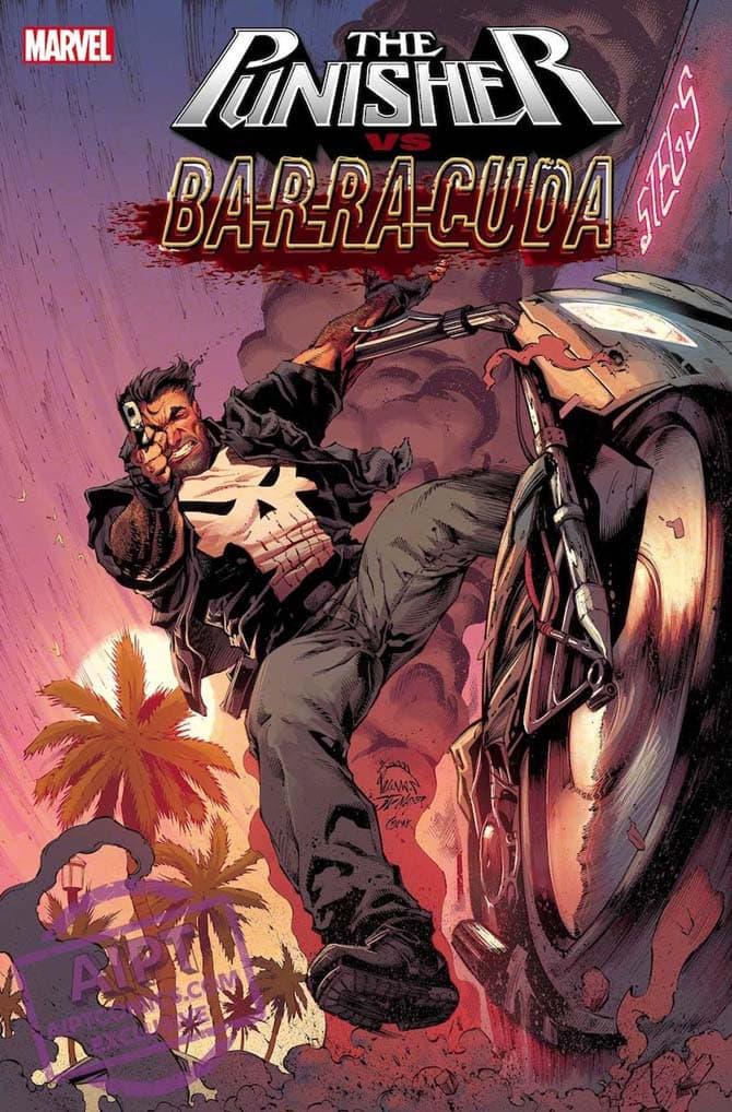 punisher vs barracuda fumetti marvel aprile 2020