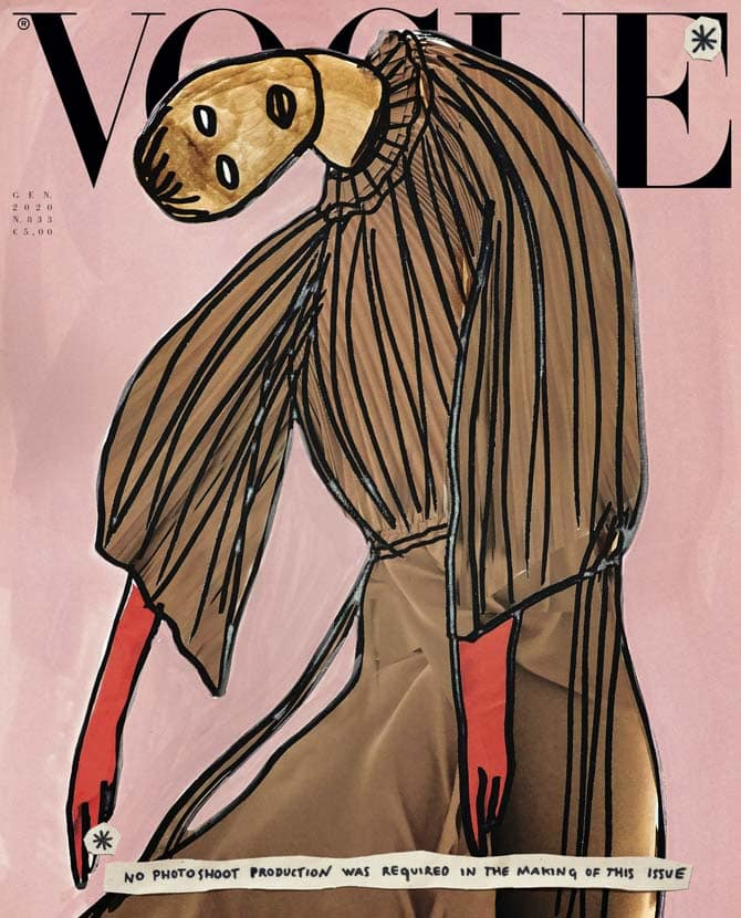 vogue illustrazioni