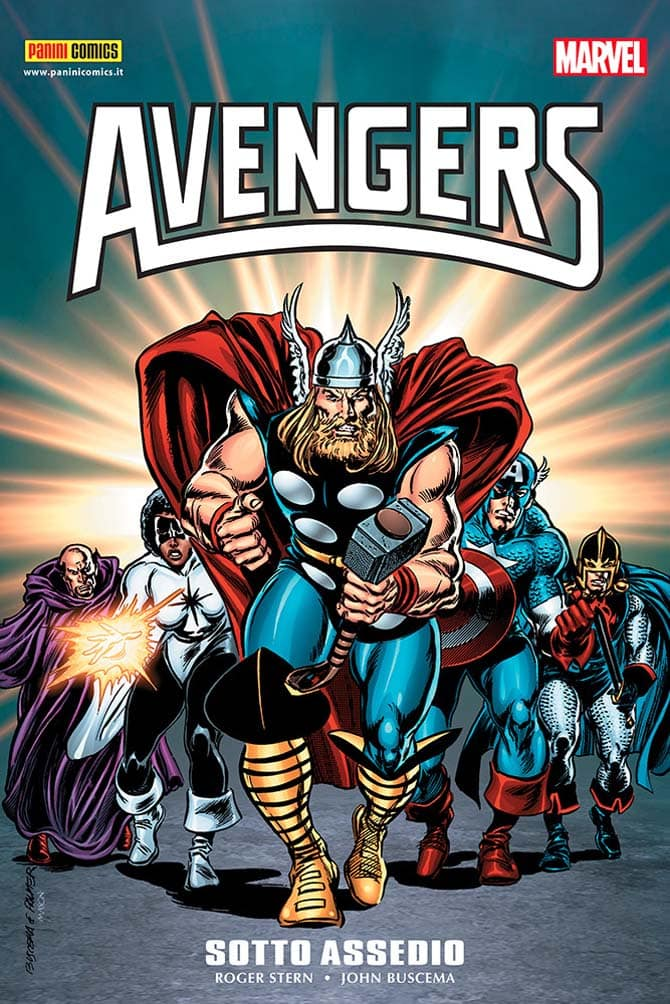 avengers sotto assedio fumetto marvel