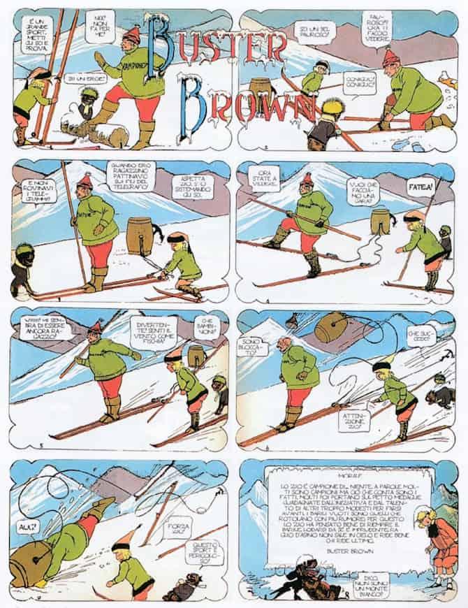 buster brown fumetti sci