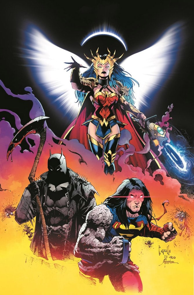 Dark Nights Death Metal dc comics