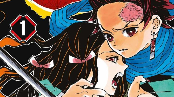 demon slayer manga più venduti Giappone 2020