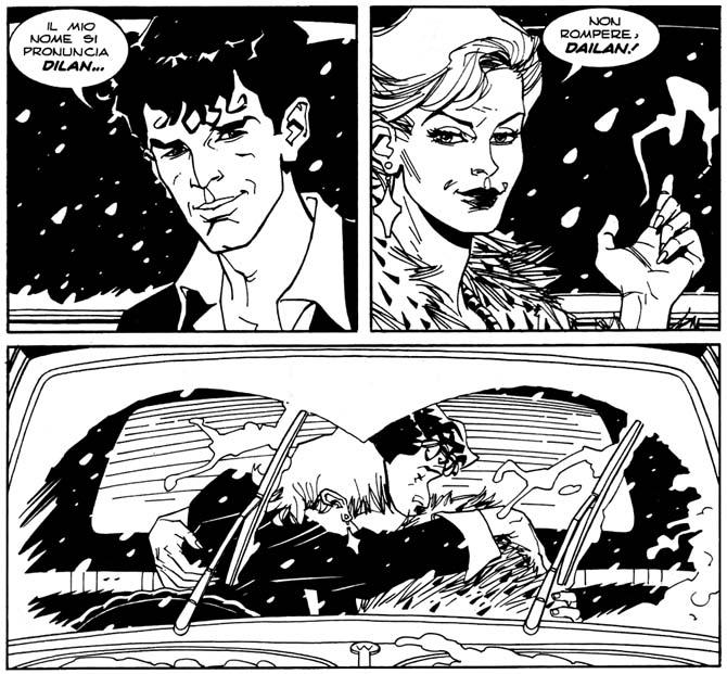 amori tragici fumetti dylan dog