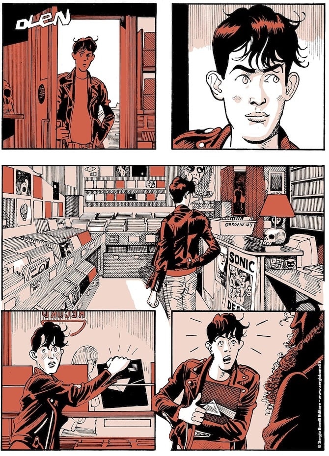 dylan dog i due padri paolo bacilieri