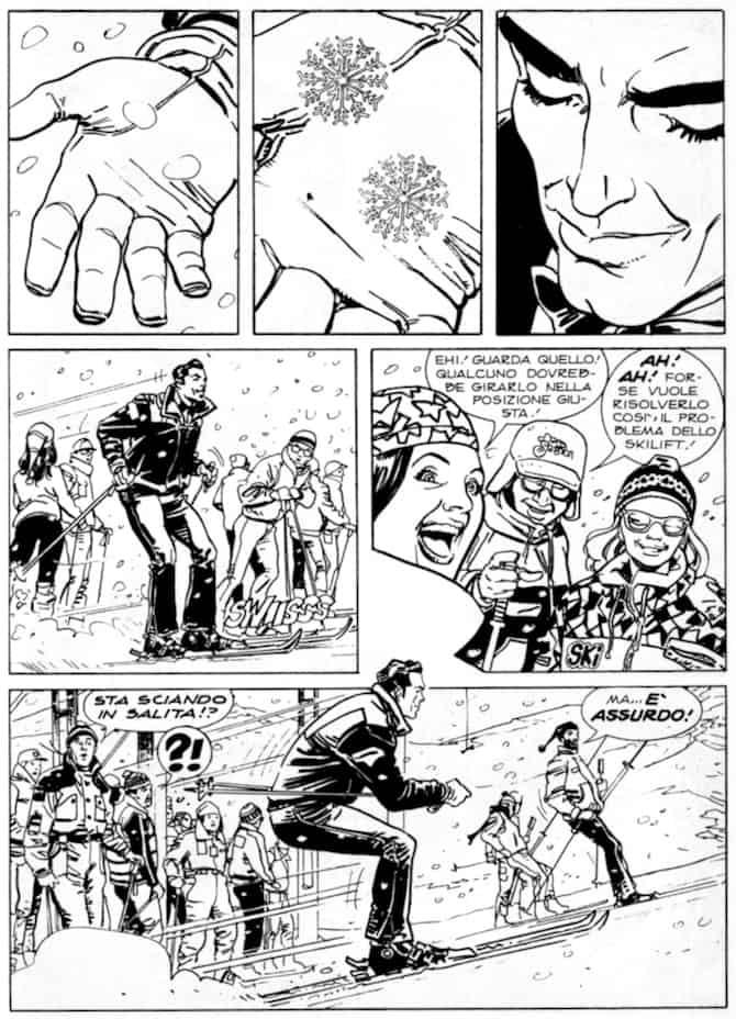 dylan dog fumetti sci