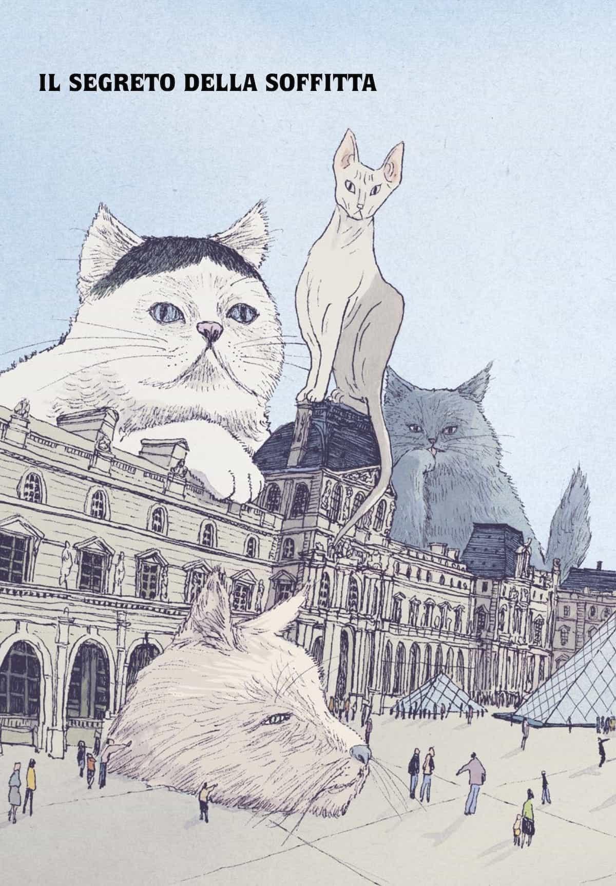 I gatti del Louvre Taiyo Matsumoto