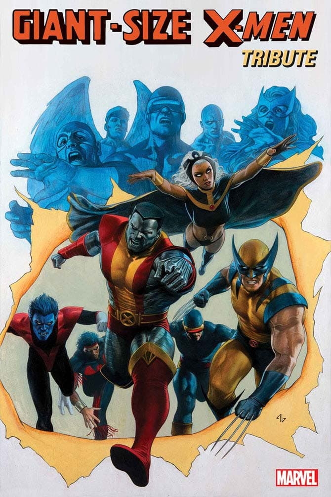 giant-size x-men tribute fumetto marvel