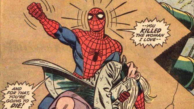 amori tragici fumetti spider-man gwen stacy