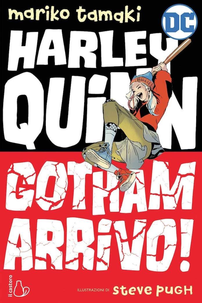 harley quinn gotham arrivo castoro dc comics
