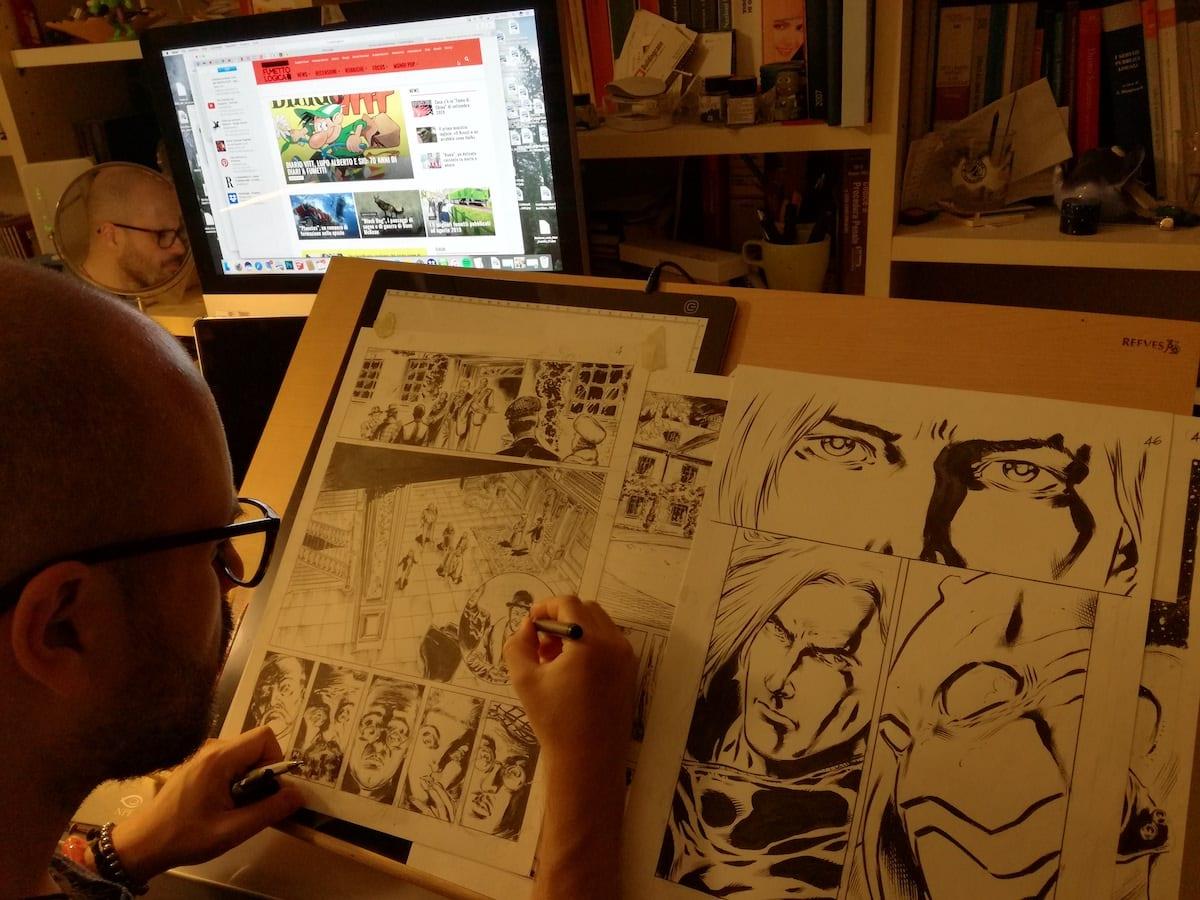 studio italo mattone fumetti