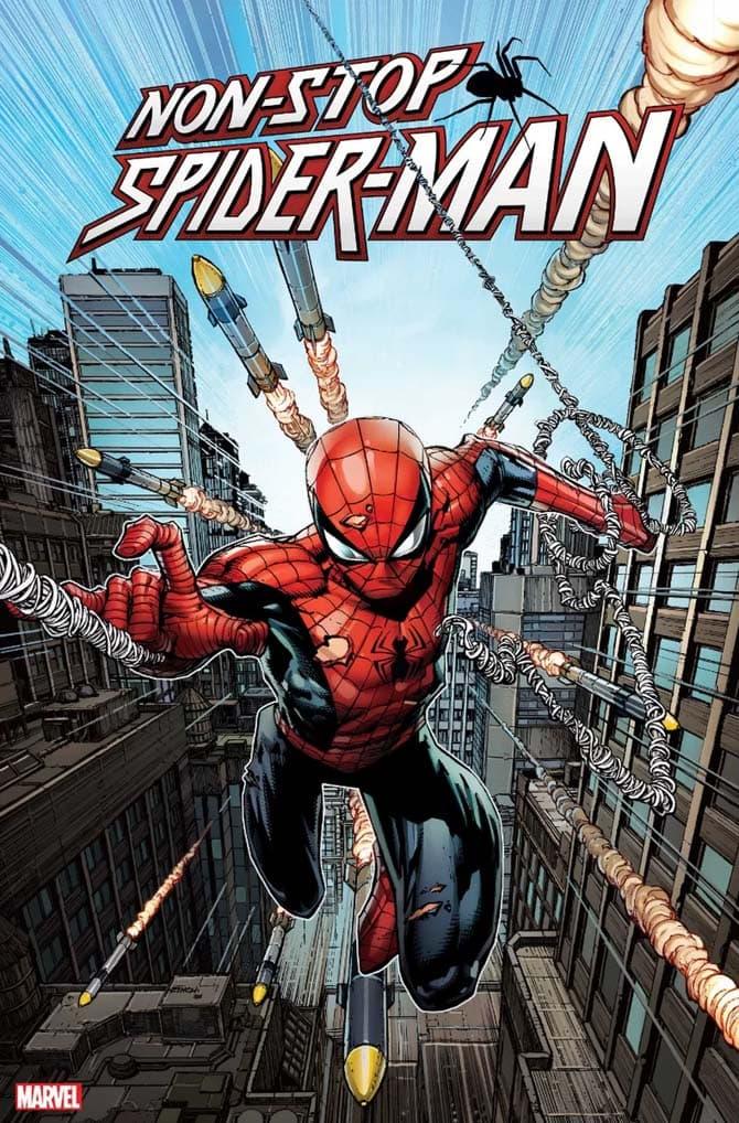 non-stop spider-man fumetto marvel