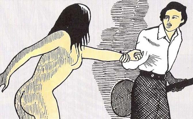 poema a fumetti dino buzzati amori tragici
