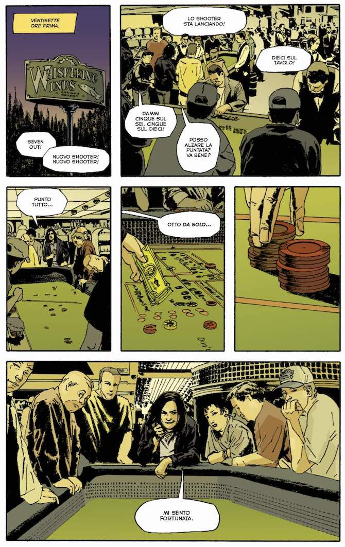 stumptown greg rucka matthew southworth edizioni bd