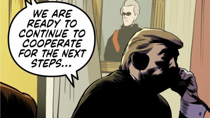 impeachment trump fumetto