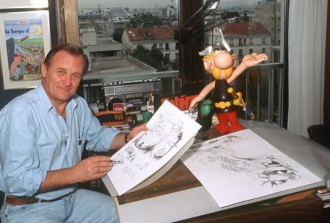 albert uderzo morto
