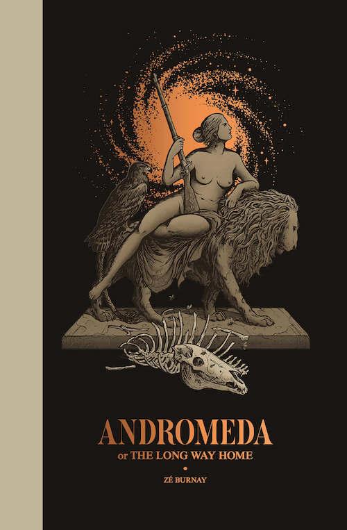 Andromeda Or The Long Way Home migliori fumetti 2019 portogallo