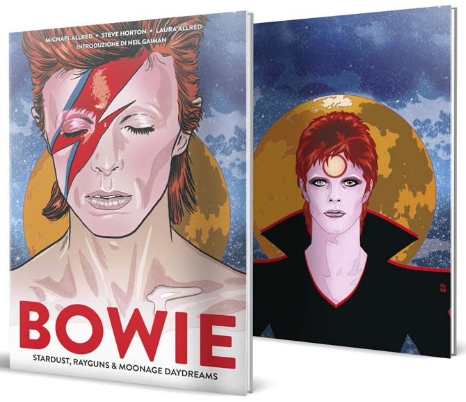 bowie graphic novel allred panini
