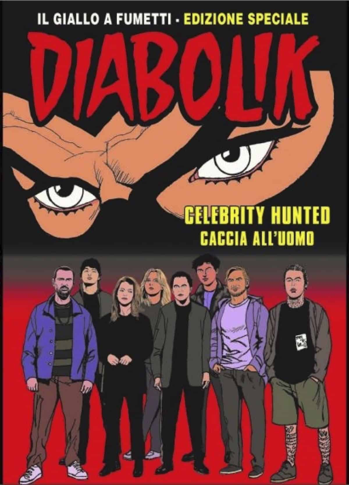diabolik celebrity hunted caccia all'uomo